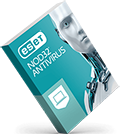 ESET NOD32 Antivirus 2020 box