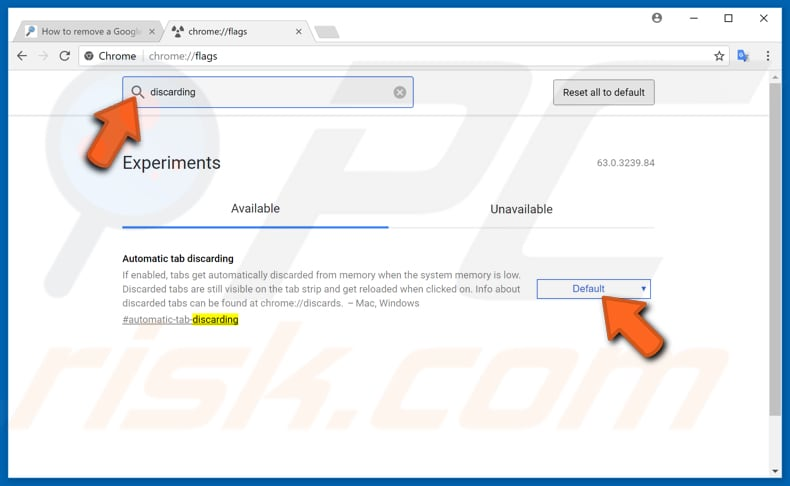 make your google chrome faster with experimental features step 4
