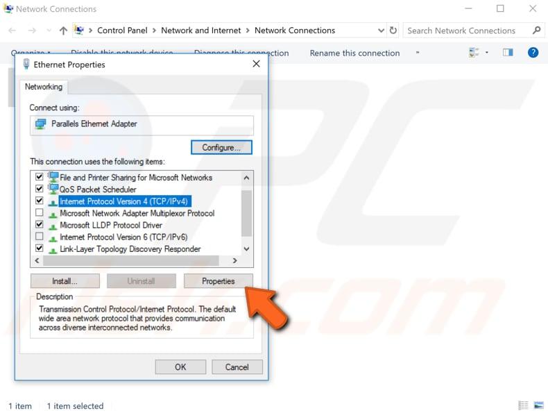 Como corrigir problema de 'WiFi não tem uma configuração IP válida