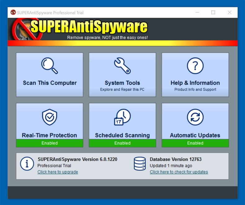 superantispyware main