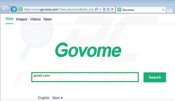 Vírus Govome Search