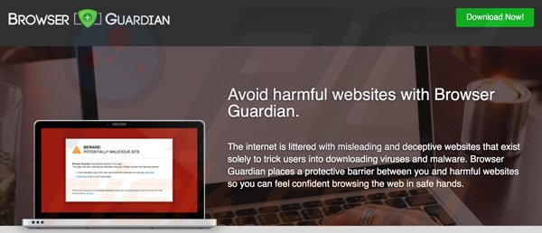 adware browser guardian