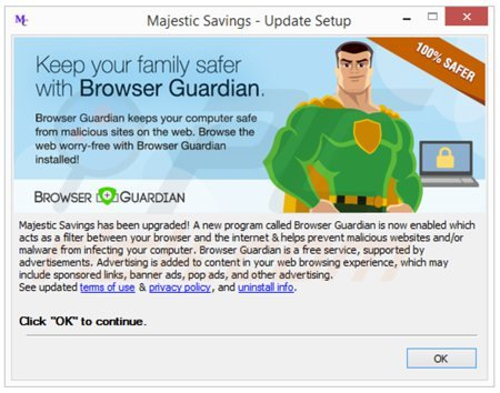 browser guardian adware installer