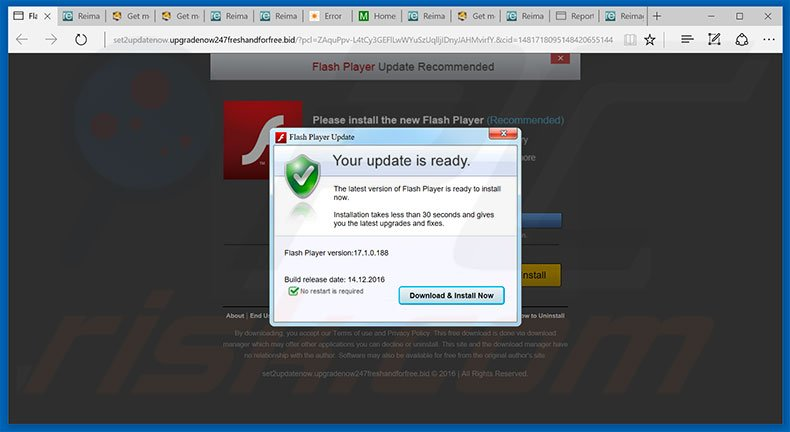 Como desinstalar fraude adobe flash player update instrues para atualizao do adobe flash player exemplo 2 stopboris Image collections