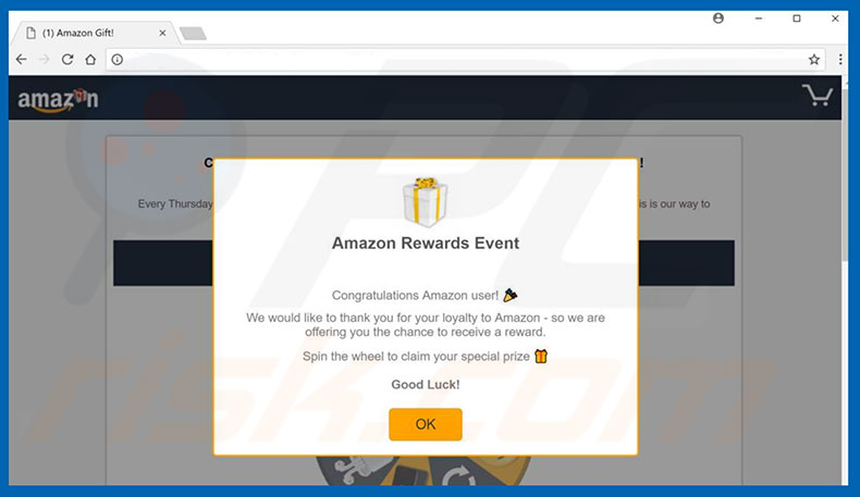 Adware Amazon Gift Card
