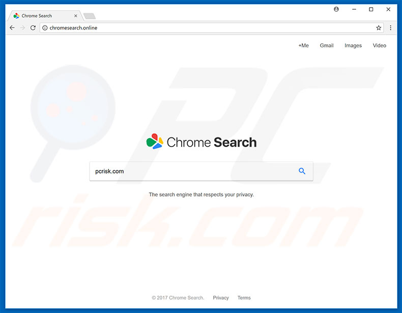sequestrador de navegador chromesearch.online