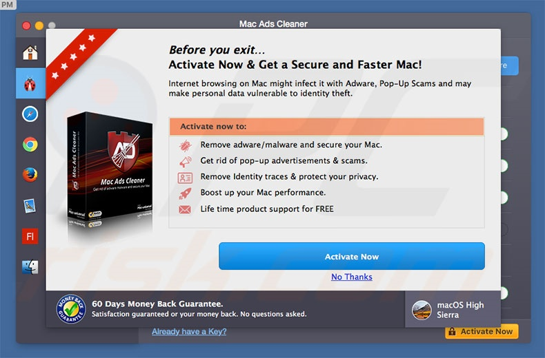 Adware Mac Ads Cleaner