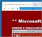 POP-UP da Fraude Azurewebsites.net